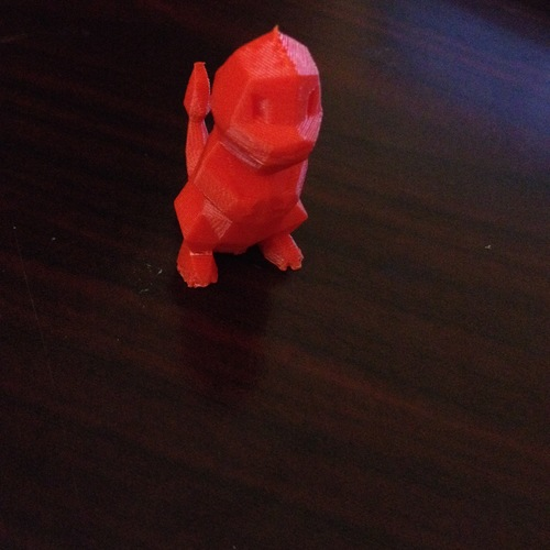 Low Poly Pokemon  3D Print 10375