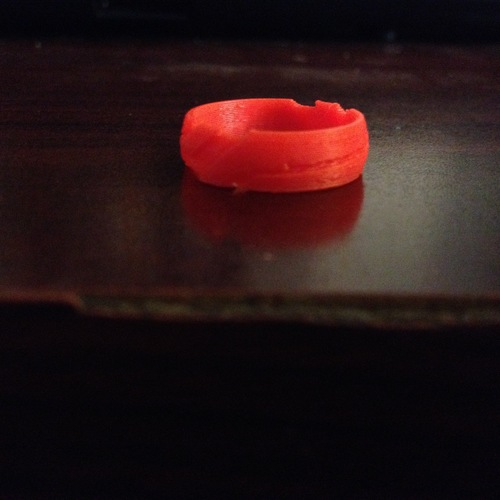 GD Ring - Edge 3D Print 10376
