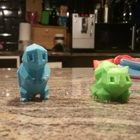 Small Low Poly Pokemon  3D Printing 10432