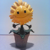 Small Sunflower - Plants Vs Zombies GW2 3D Printing 10440