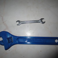Small Fully assembled 3D printable wrench 3D Printing 10461