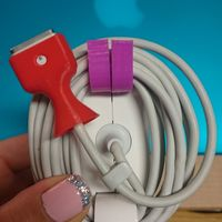 Small Cable Saver for MacBook Pro Late 2014 3D Printing 10474
