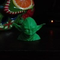 Small Low Poly Yoda 3D Printing 10496