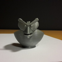 Small Angry Bird Egg Cup 3D Printing 10560