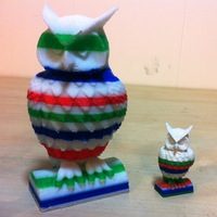 Small Owl 3D Printing 10563