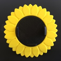 Small iPhone Bike Mount - Sunflower Style 3D Printing 10594