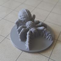 Small Rocket Pig Games: Spiders 3D Miniature Pack 3D Printing 10605