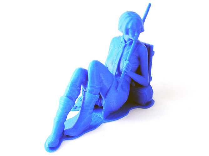 Machiko - the rebel 3D Print 1062