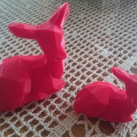 Small Low Poly Fawn 3D Printing 10663