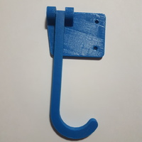 Small Hanging Bicycle Wall Mount 3D Printing 10706