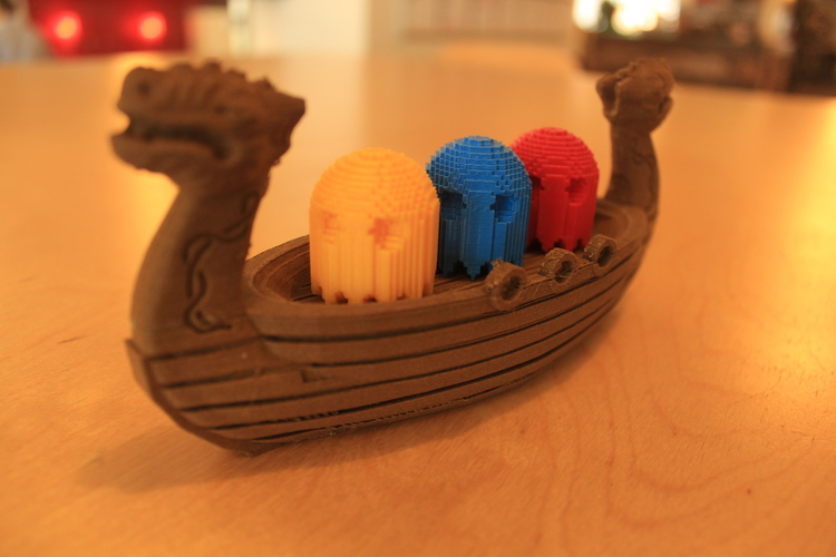 Squigglepeeps Viking Explorers Playset 3D Print 1079