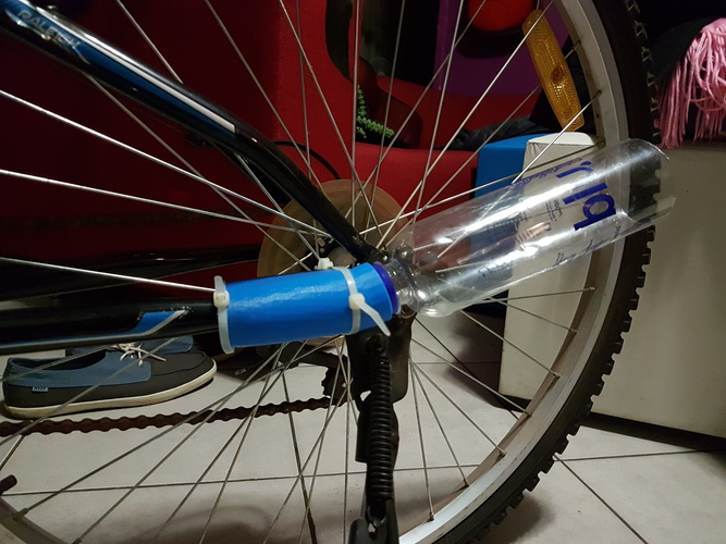 Toy Bicycle Exhaust 3D Print 10817