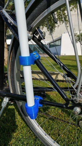 Bike accessory for a beach umbrella 3D Print 10853