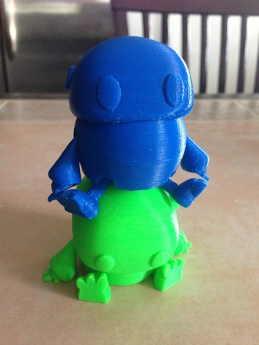Wip: Tiny articulated bot 3D Print 10969