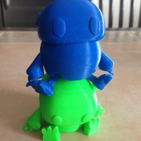 Small Wip: Tiny articulated bot 3D Printing 10969
