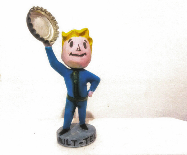 Fallout 4 Bobblehead Collection 3D Print 10994
