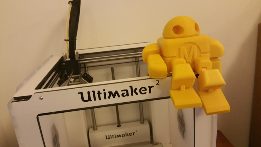 BIG Maker Faire Robot Action Figure 3D Print 11
