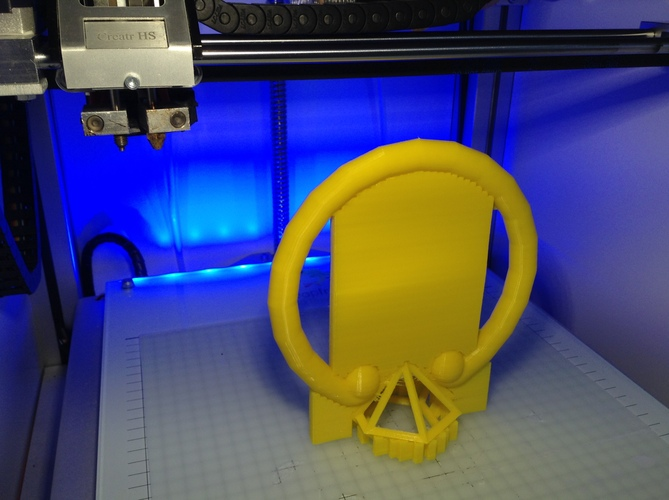 Cosplay-Klonoa ring 3D Print 1108
