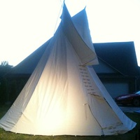 Small Tipi 3D Printing 11105