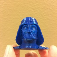 Small Darth Vader bust - Easy print 3D Printing 11112