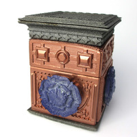 Small The Tudor Rose Box (with secret lock) 3D Printing 11138