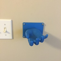 Small Hand Hanger 3D Printing 11145
