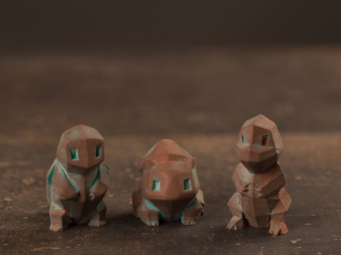 Low Poly Pokemon  3D Print 11255
