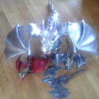 "Small ""Braq""  jointed dragon 3D Printing 11293"
