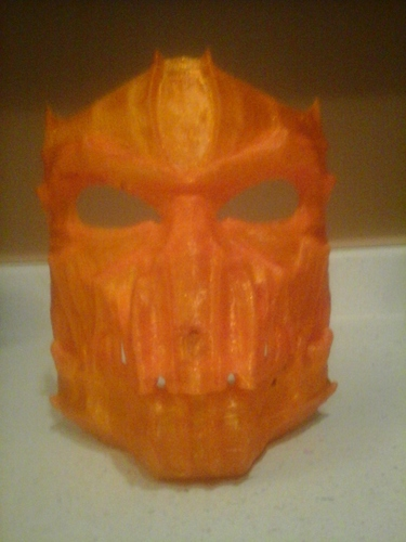 Dark Mask - Jointed 3D Print 11296