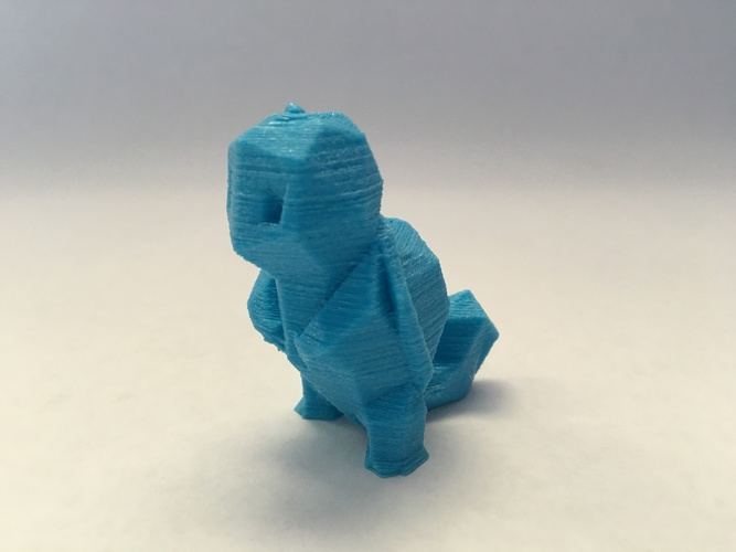 Low Poly Pokemon  3D Print 11326