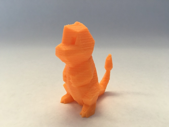 Low Poly Pokemon  3D Print 11327