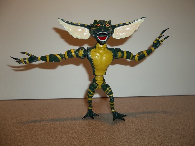 articulated GREMLIN 3D Print 11363