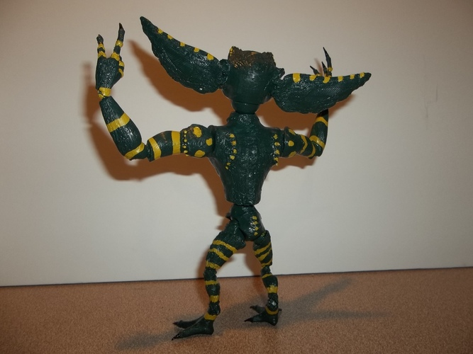 articulated GREMLIN 3D Print 11365