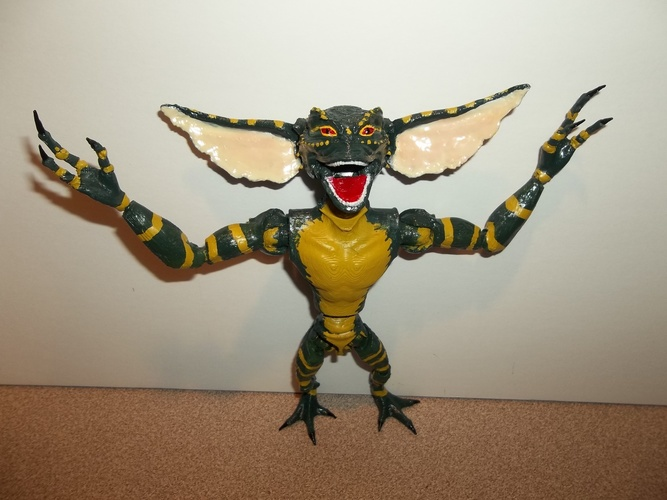 articulated GREMLIN 3D Print 11366