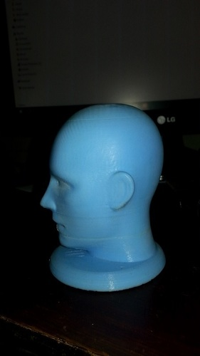Figurine, bust, -  head on a stand 3D Print 11383