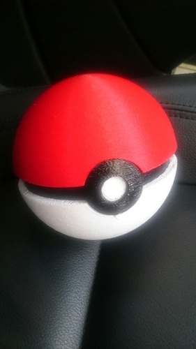 Pokemon ball www.antsdesigntm.com  ANTS 3D printer only US$200 3D Print 11405