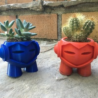 Small Marvin planter 3D Printing 11438