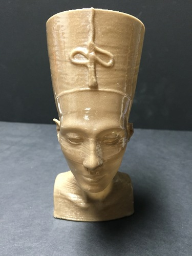 Nefertiti Bust [Hollow] 3D Print 11451