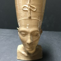 Small Nefertiti Bust [Hollow] 3D Printing 11451