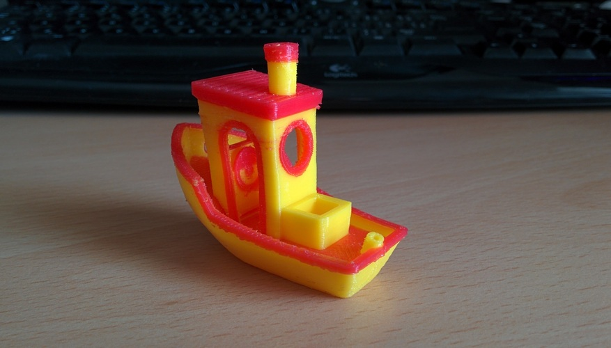 #3DBenchy - The jolly 3D printing torture-test 3D Print 11490