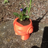 Small Marvin planter 3D Printing 11568