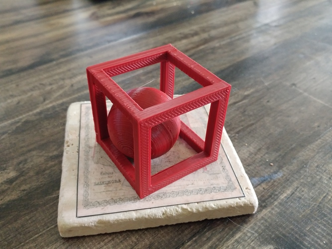 BALL-IN-A-BOX 3D Print 11606