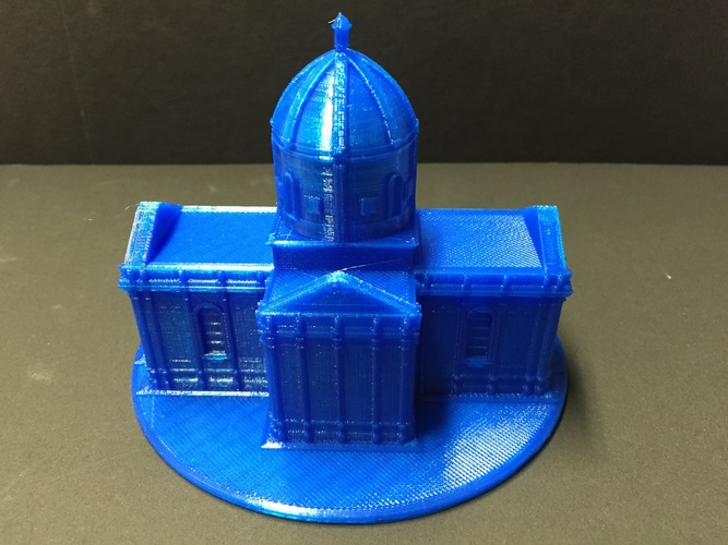 Easy to print Saint Miguel Chapel 3D Print 11626
