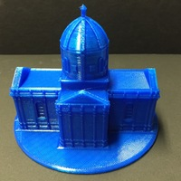 Small Easy to print Saint Miguel Chapel 3D Printing 11626