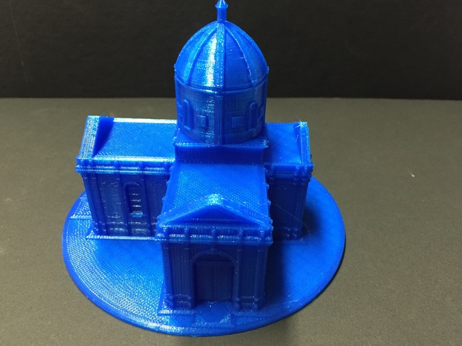 Easy to print Saint Miguel Chapel 3D Print 11627