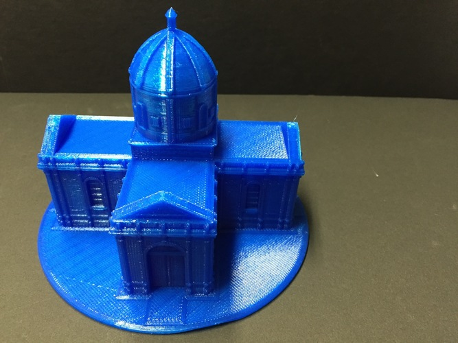 Easy to print Saint Miguel Chapel 3D Print 11628