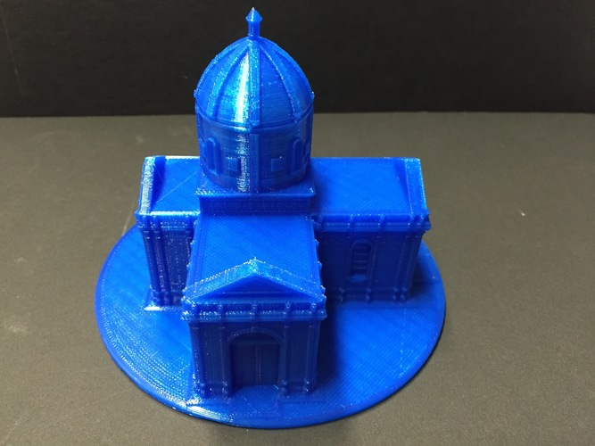 Easy to print Saint Miguel Chapel 3D Print 11629
