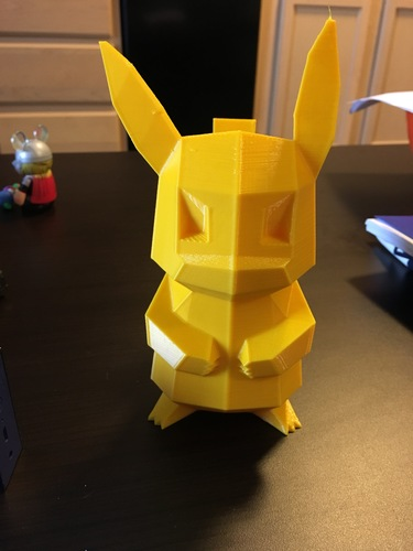 Tail-strengthened Pikachu 3D Print 11637