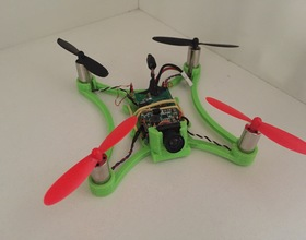 pin micro fpv quadcopter frame 3d print - Micro Quadcopter Frame