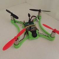 Small micro fpv quadcopter frame  3D Printing 11641